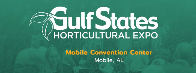 Gulf States Horticultural Expo Mobile Convention Center Ad